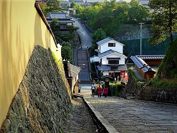 大分県杵築・日本唯一の「サンドイッチ型城下町」
