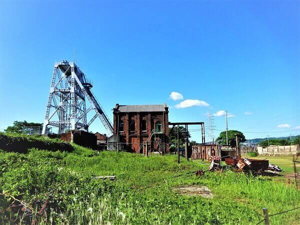 三池炭鉱 万田坑跡