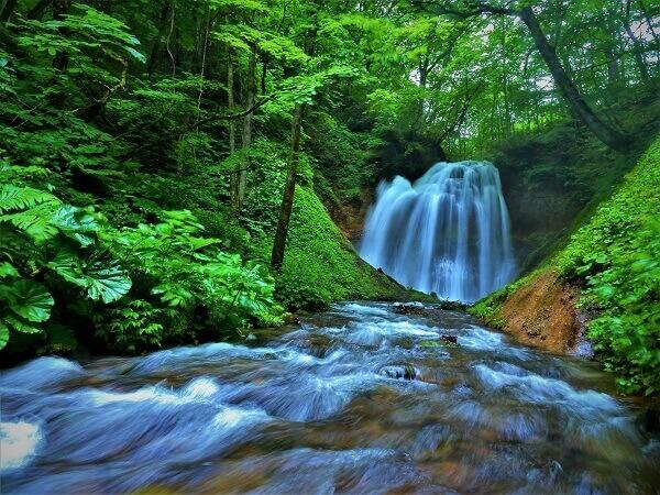 滝つぼ沢の滝