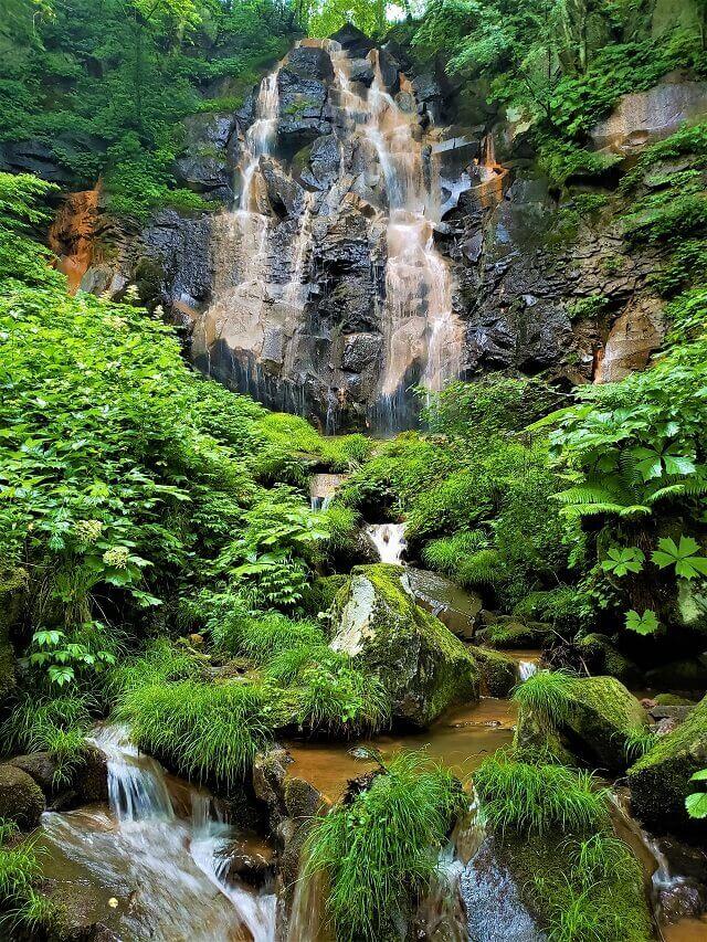 幻の滝 福島県