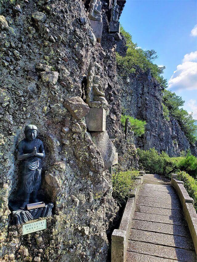 小豆島霊場第72番 奥の院 笠ヶ滝