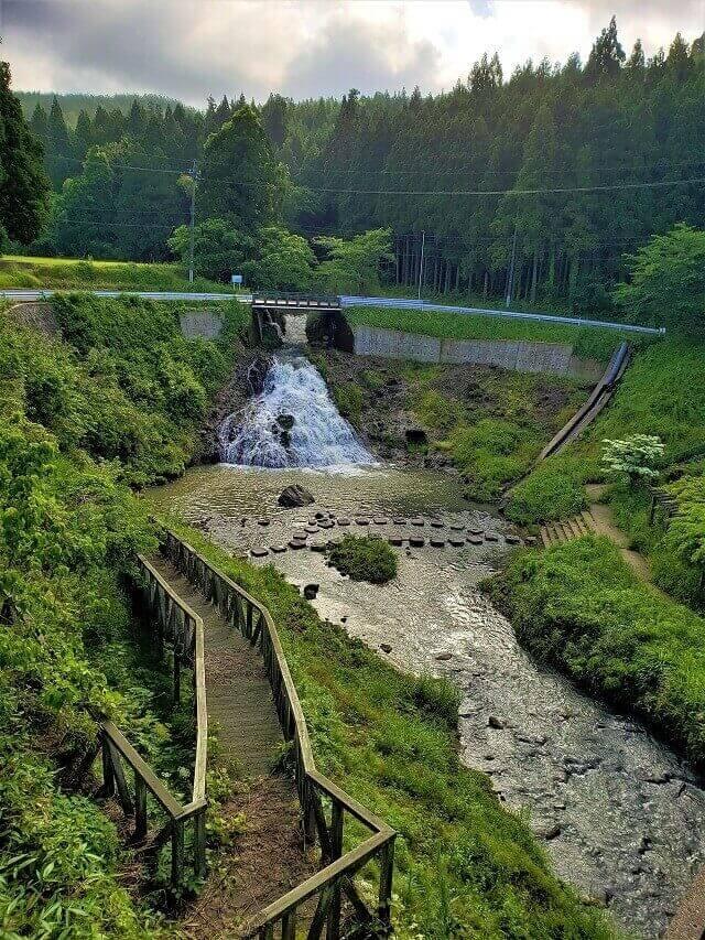 米町不動の滝